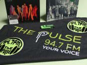 The 94.7 The Pulse subscriber pack with stickers